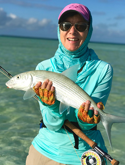 Ariel with Bonefish